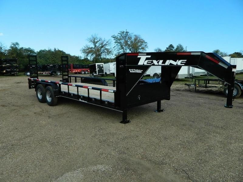 2019 TexLine 83 x 20 Bobcat Gooseneck Equipment Trailer in Texarkana, AR