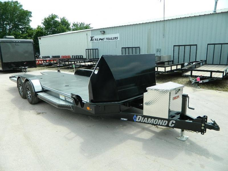 2018 Diamond C Trailers 83 x 22 11FBDT Car / Racing Trailer