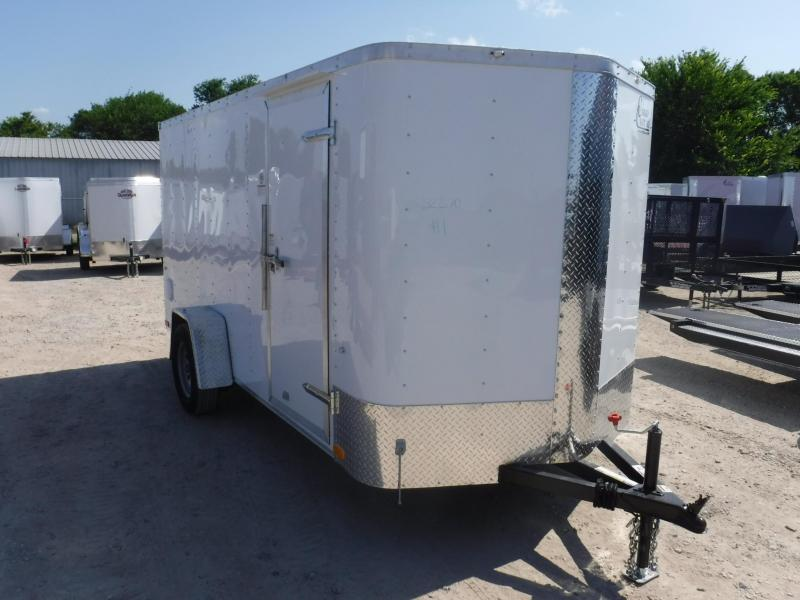 2019 Cargo Craft 6 x 12 Elite-V  Enclosed Cargo Trailer