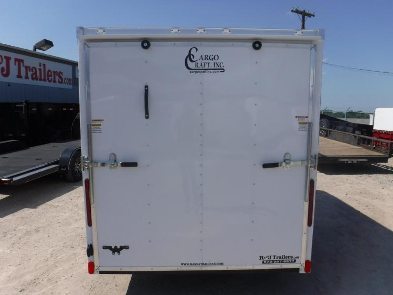 2019 Cargo Craft 6 x 12 Elite-V  Enclosed Cargo Trailer
