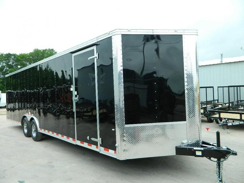 2018 Cargo Craft 8.5 x 28 Dragster V-Nose Enclosed Cargo Trailer
