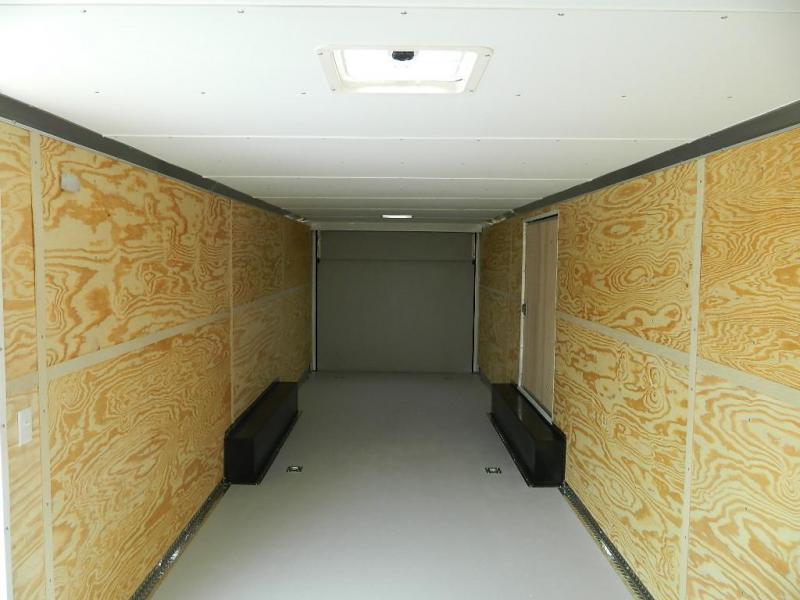 2018 Cargo Craft 8.5 x 28 Dragster V-Nose Enclosed Cargo Trailer