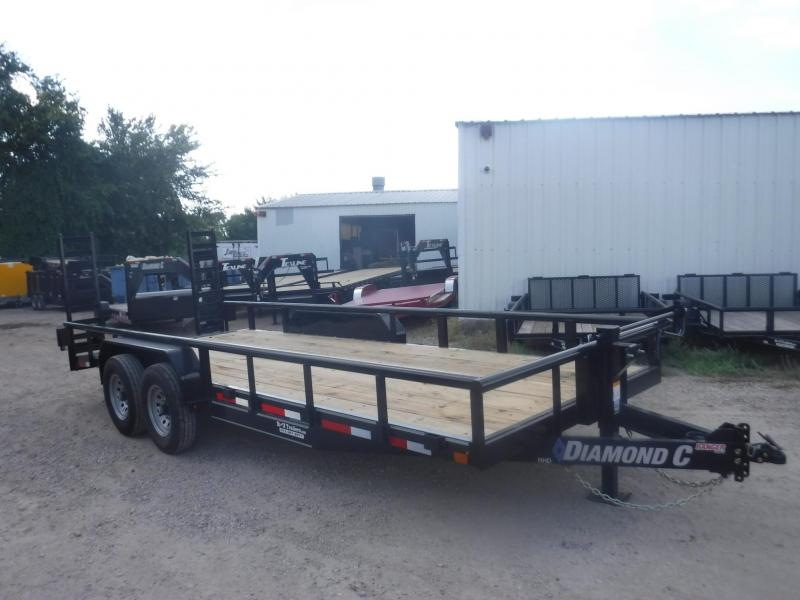 2018 Diamond C Trailers 82 x 20 RHD20 Equipment Trailer