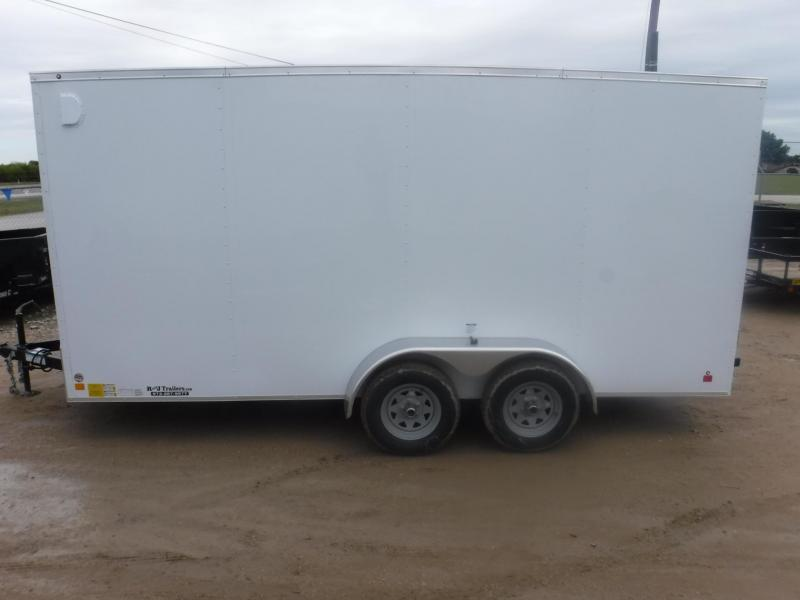 2019 Cargo Mate 7 x 16 TXLV TA Enclosed Cargo Trailer