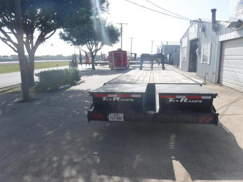 2018 TexLine 102 x 25+5 Equipment Trailer