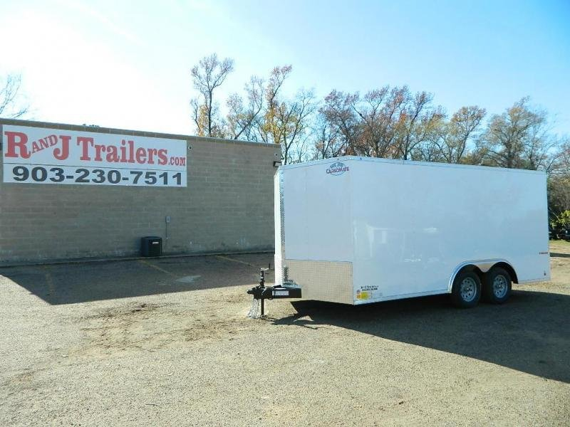 2019 Cargo Mate 8.5 x 16 E-Series TA Enclosed Cargo Trailer in Ashburn, VA