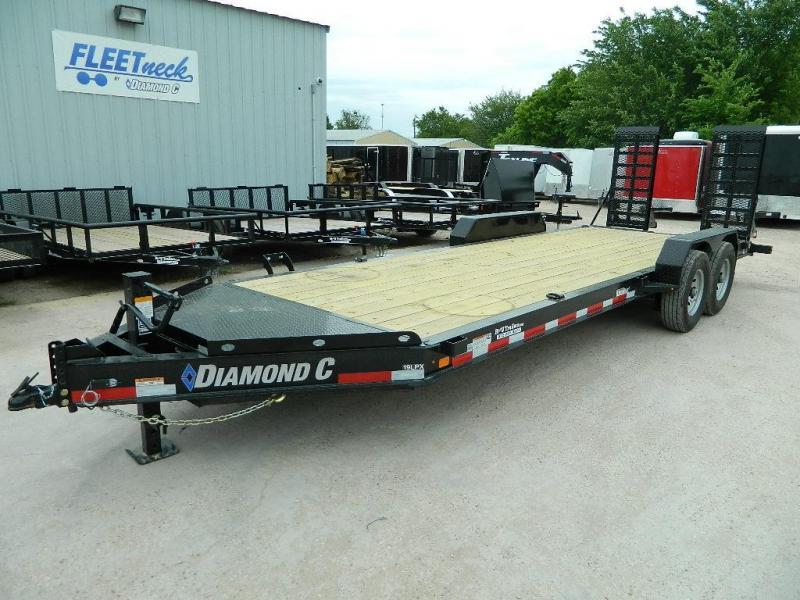 2018 Diamond C 82x22 19LPX Equipment Trailer