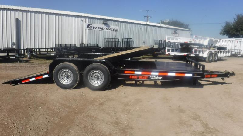 2019 Buck Dandy 83 x 20 Tilt Equipment Trailer