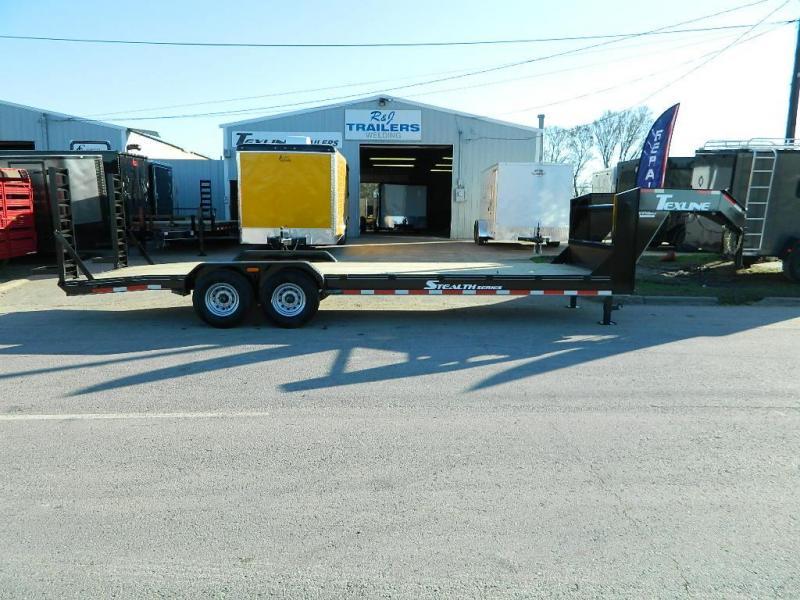 2018 TexLine 83 x 24 Gooseneck Bobcat Equipment Trailer