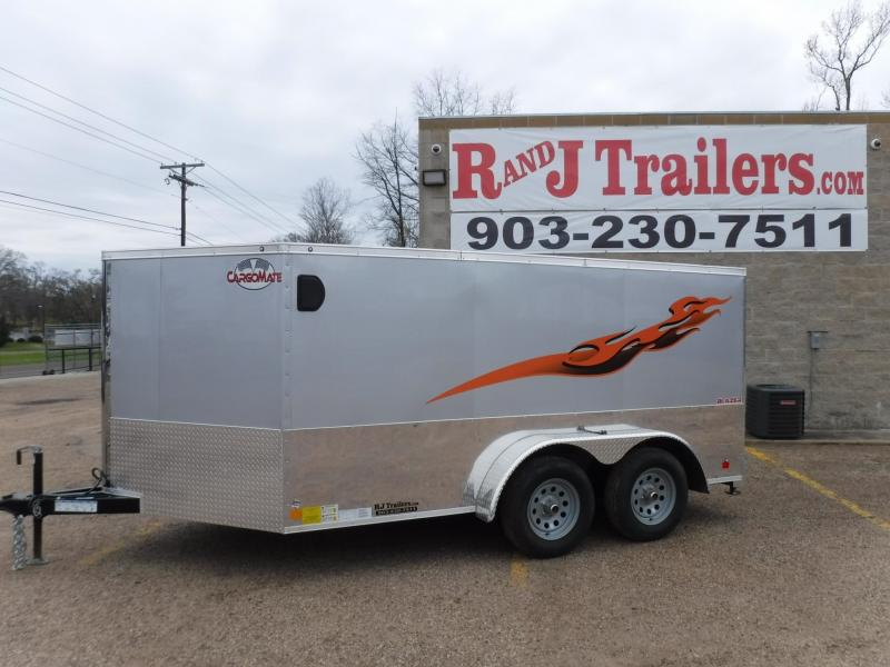 2018 Cargo Mate 7 x 12 Blazer Low Hauler Motorcycle Trailer