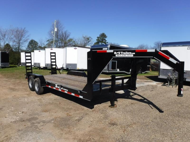 2019 TexLine 83 x 20 Bobcat Gooseneck Equipment Trailer in Willisville, AR