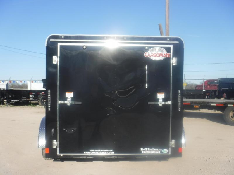 2019 Cargo Mate 7 x 12 Blazer Low Hauler Motorcycle Trailer
