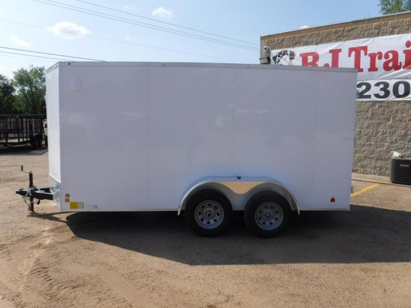 2020 Cargo Mate LEE 7 x 14 Enclosed Cargo Trailer