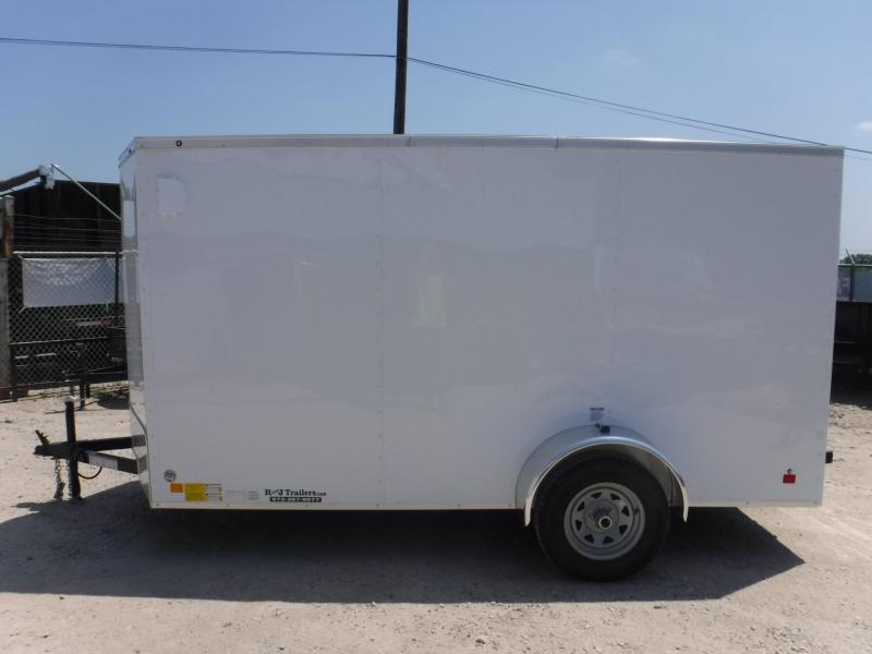 2019 Cargo Mate 6 x 12 TXLV Enclosed Cargo Trailer