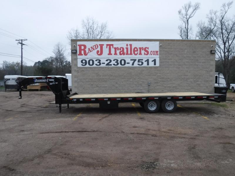 2018 Diamond C Trailers 102 x 26 13 DEC Full Tilt Equipment Trailer