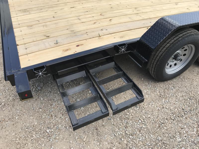 2018 TexLine 83 x 18 Deluxe Car / Racing Trailer