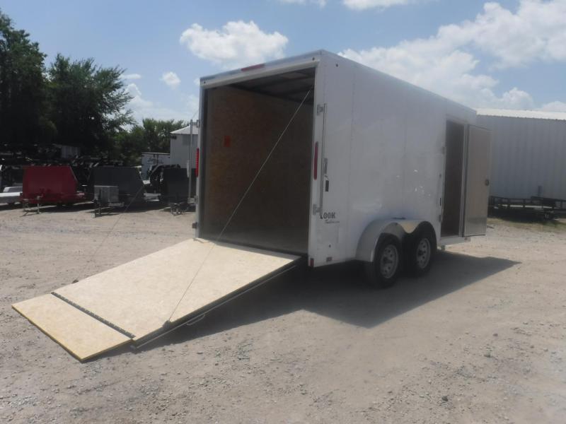 2019 Look Trailers 7 X 14 TA Element Enclosed Cargo Trailer