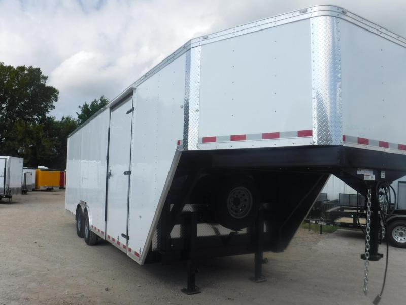 2019 Cargo Craft 8.5 x 32 Goosneck Enclosed Cargo Trailer