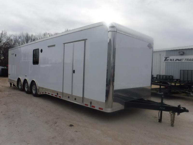 2019 Cargo Mate 8.5 x 34 Eliminator Car / Racing Trailer