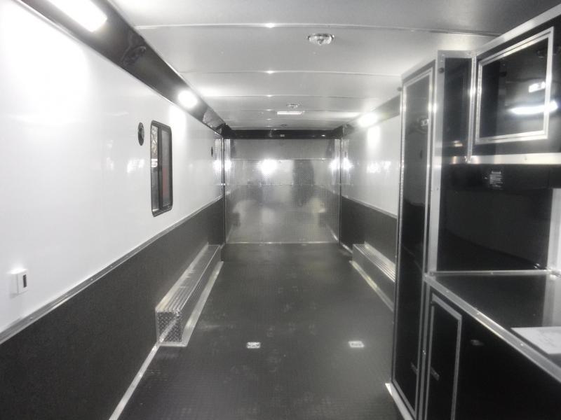 2019 Cargo Mate 8.5 x 34 Eliminator Car / Racing Trailer