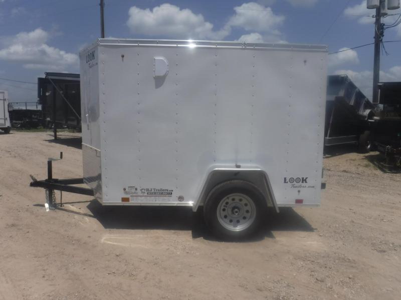 2019 Look Trailers 5 X 8 Element Enclosed Cargo Trailer