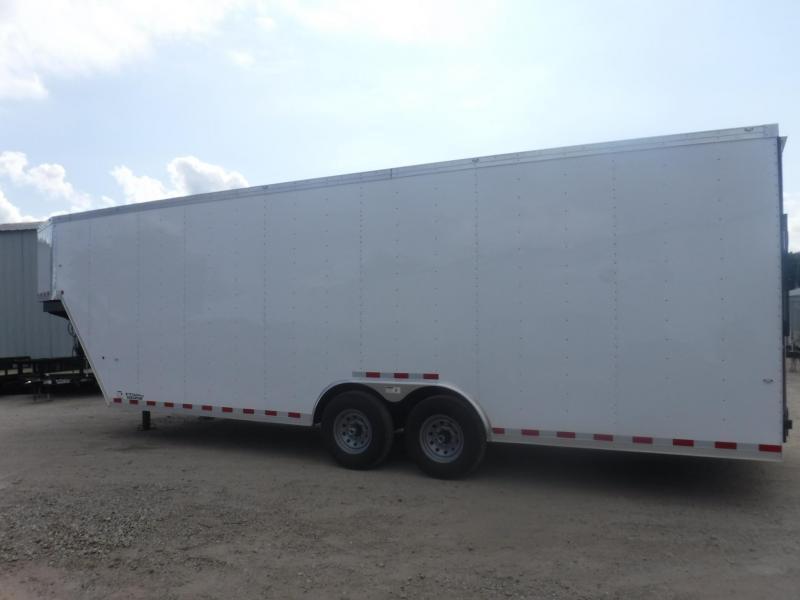 2018 Cargo Craft 8.5 x 32 Goosneck Enclosed Cargo Trailer
