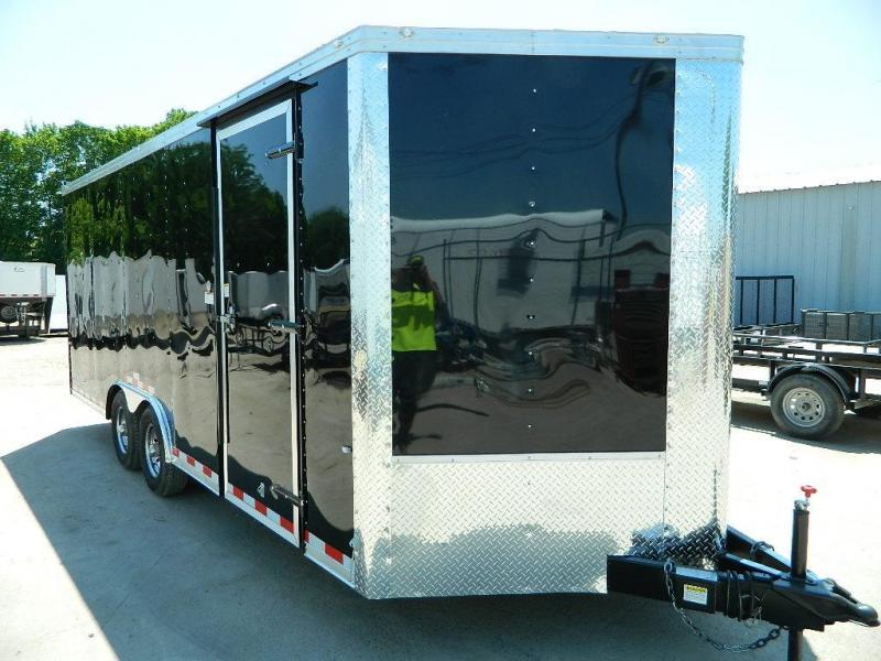2018 Cargo Craft 8.5 x 20 V-Nose Dragster Enclosed Cargo Trailer