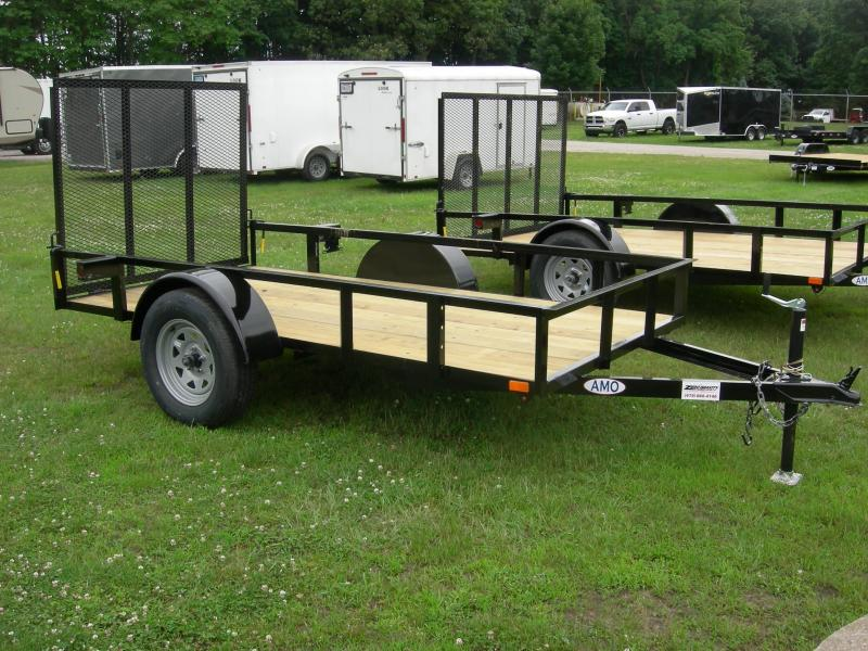 2019 American Manufacturing Operations (AMO) US5x10LS Utility Trailer