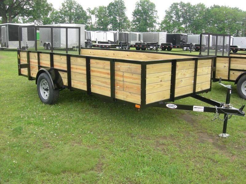 2019 American Manufacturing Operations (AMO) US82x12HS Utility Trailer
