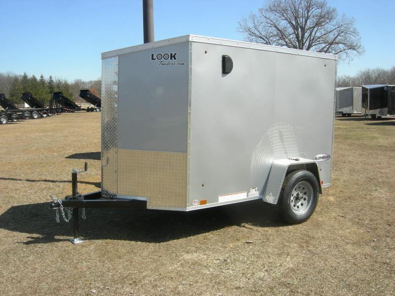 2020 Look Trailers EWLC5x8SI2 Enclosed Cargo Trailer