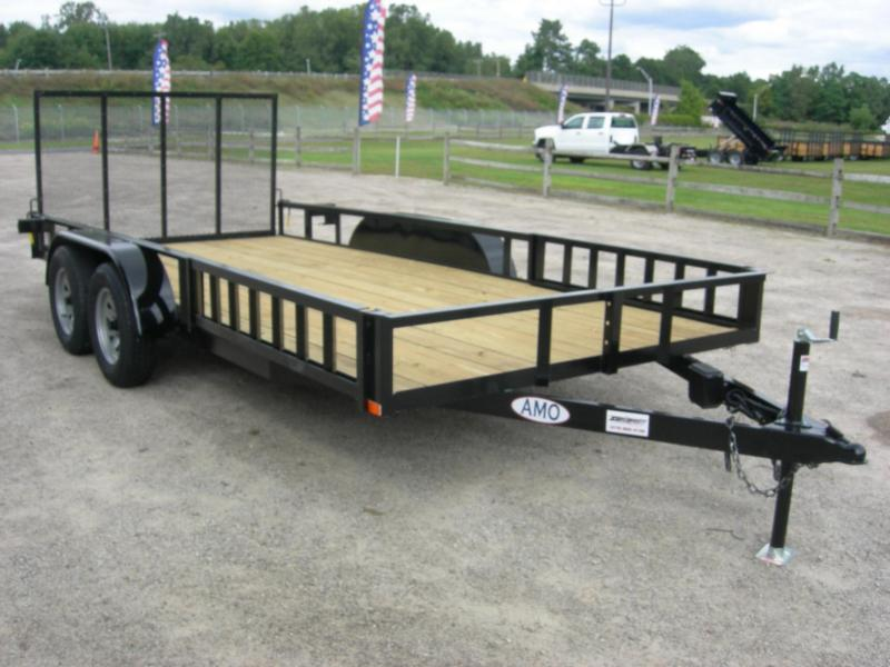 2020 American Manufacturing Operations (AMO) UT76x16ATV ATV Trailer