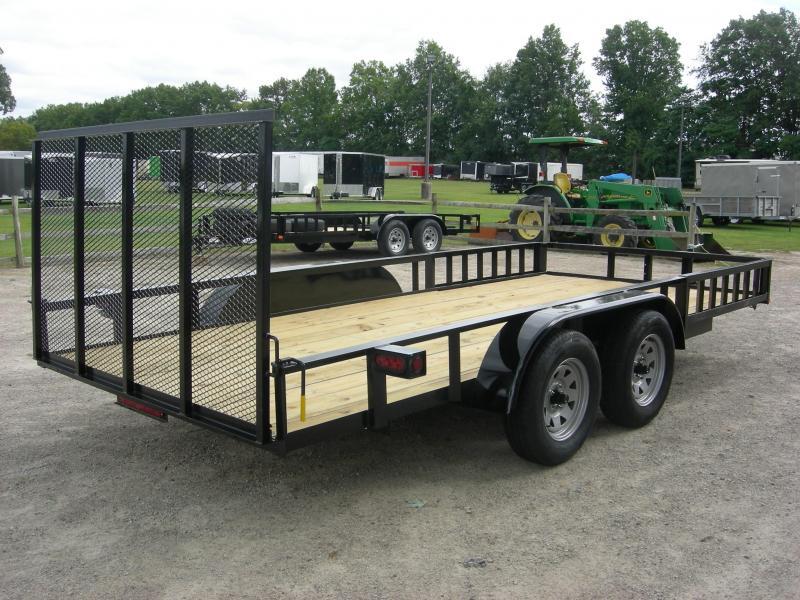 2020 American Manufacturing Operations (AMO) UT76x16ATV ATV Trailer