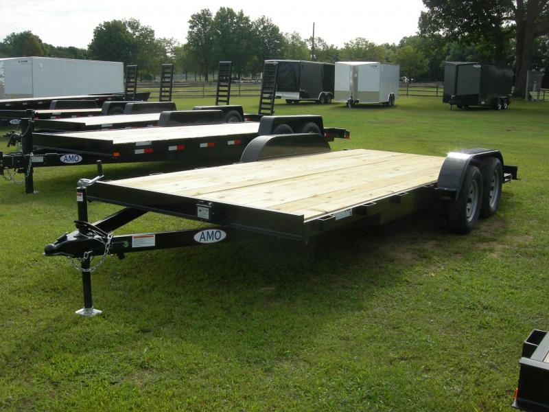 2020 American Manufacturing Operations (AMO) UT82x18TA2 Car / Racing Trailer