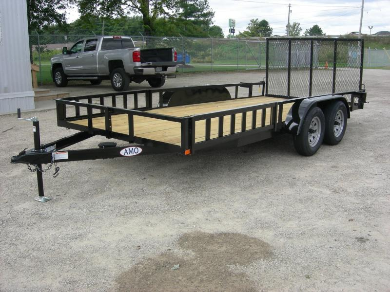 2020 American Manufacturing Operations (AMO) UT85x16ATV ATV Trailer