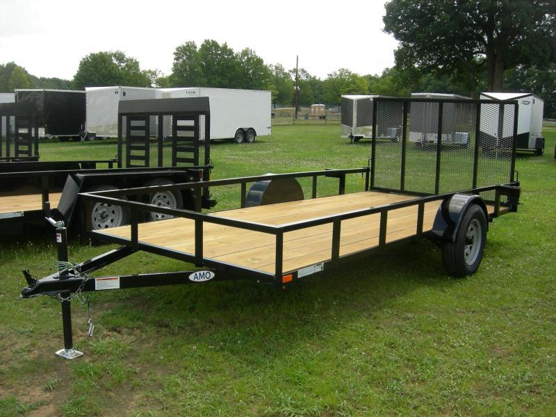 2019 American Manufacturing Operations (AMO) US76x12LS Utility Trailer