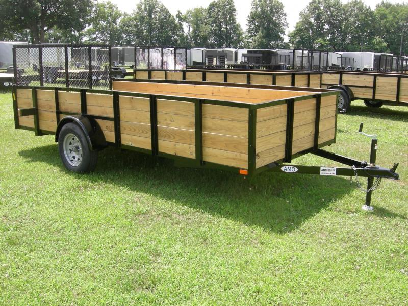 2019 American Manufacturing Operations (AMO) US76x14HS Utility Trailer