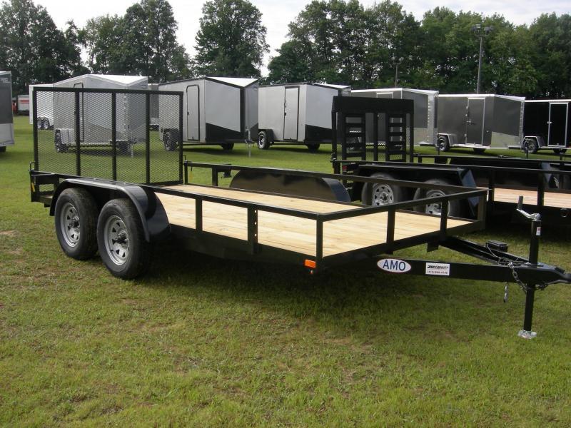 2020 American Manufacturing Operations (AMO) UT76x14TA2 Utility Trailer