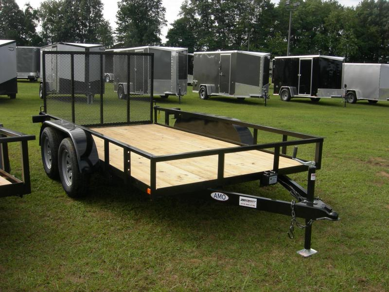 2020 American Manufacturing Operations (AMO) UT76x12TA2 Utility Trailer