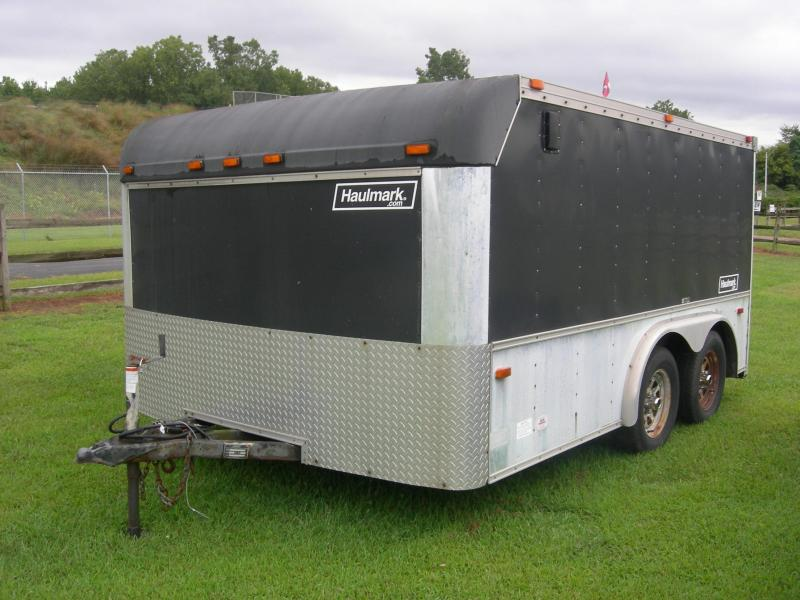 2001 Haulmark MT8x12LH-102 Motorcycle Trailer