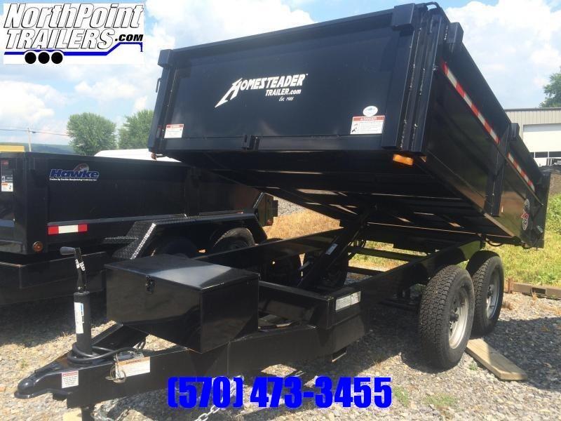2020 Homesteader 610LB Deckover Dump Trailer