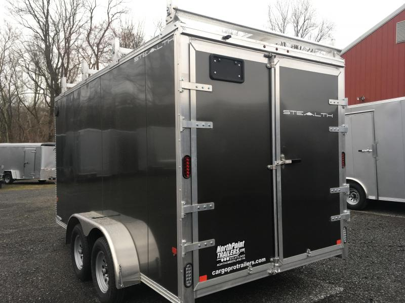 2019 CargoPro Stealth Trailer C7x14S - CONTRACTOR PACKAGE TRAILER