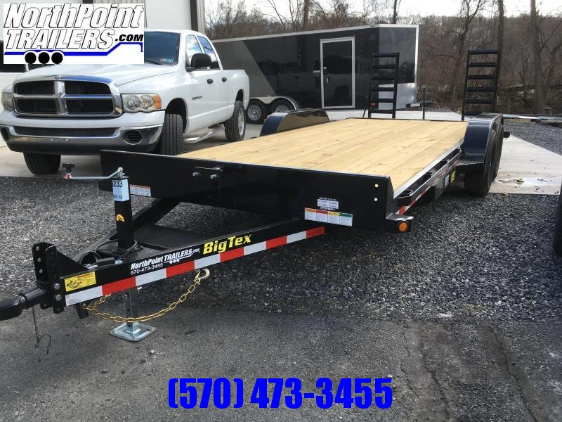 2018 Big Tex Trailers 10ET-20 Equipment Trailer