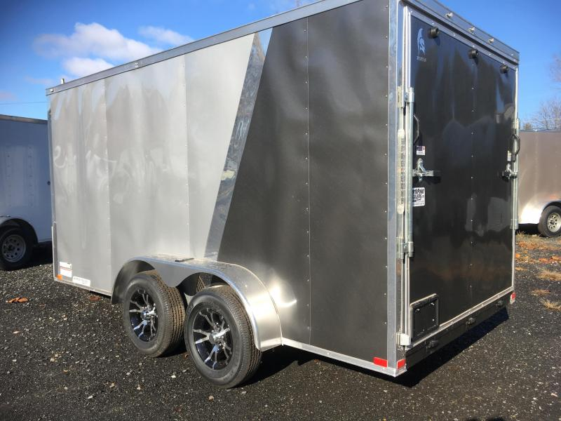 2018 Samson SP714TA Cargo Trailer Two-Tone