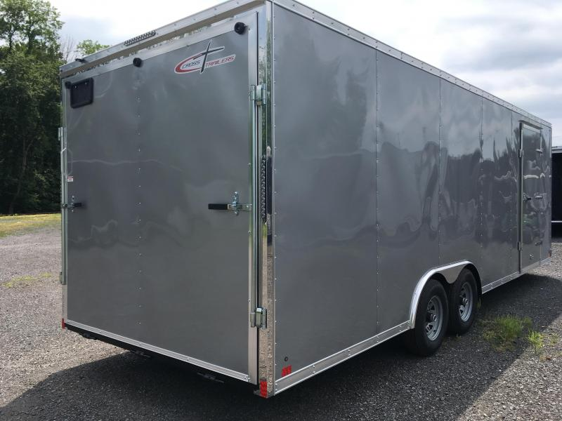 2018 Cross Trailers 824TA - Arrow Nose - Silver