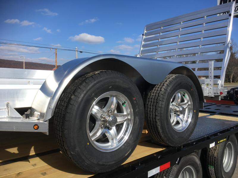 2019 Aluma 7816T Tandem Axle Utility Trailer