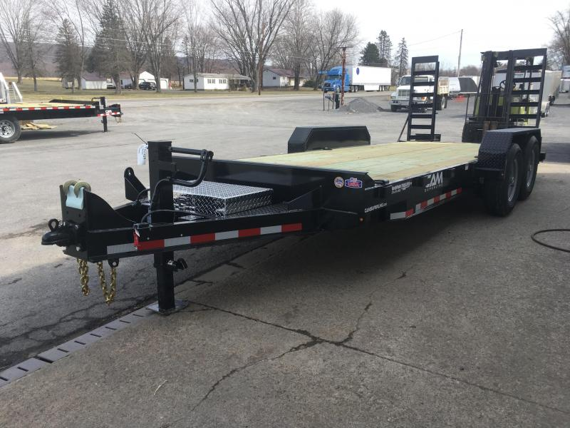 2019 Cam Superline 7CAM18C Channel Frame Equipment Trailer
