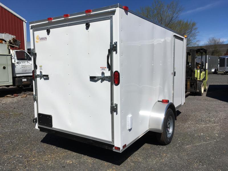 2018 Samson W6x12SA Enclosed Cargo Trailer