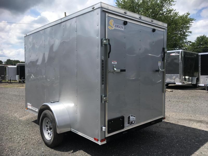 2018 Samson SP6x10SA Enclosed Trailer - Silver