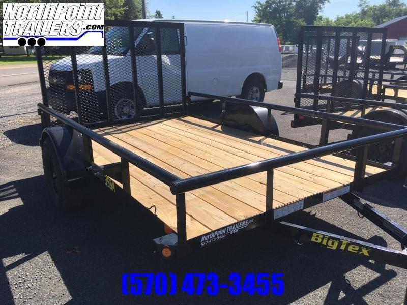 """2019 Big Tex 35SA-12BK4RG - 77""""x12' Utility Trailer"""