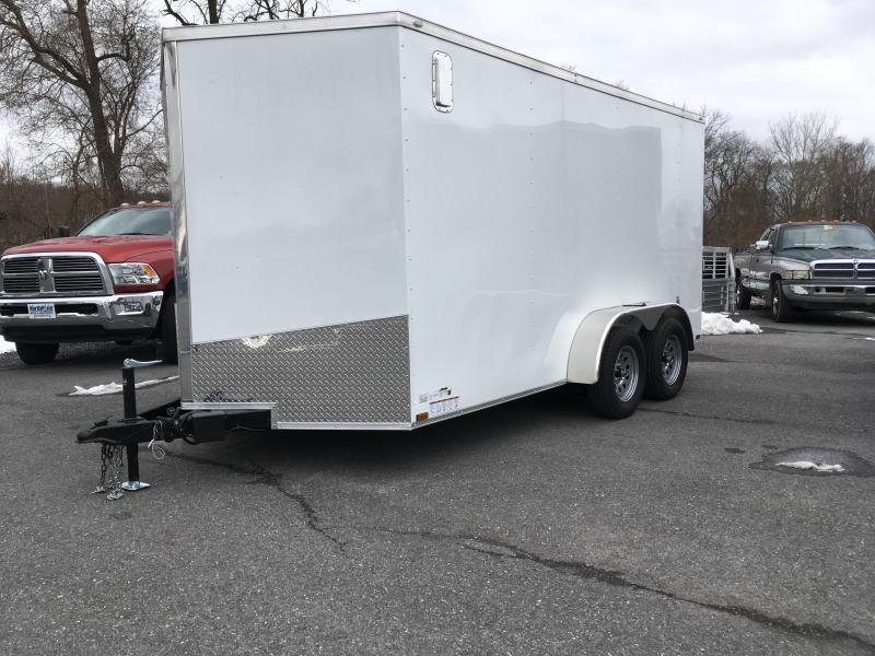 2018 Samson SP714TA Cargo Trailer - White